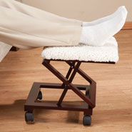 Furniture - Sherpa Wooden Footrest by OakRidge Accents™