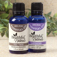 Respiratory Health - Healthful™ Naturals Skin Health Essential Oil Kit