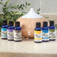Respiratory Health - Healthful™ Naturals Complete Essential Oil Kit & Diffuser