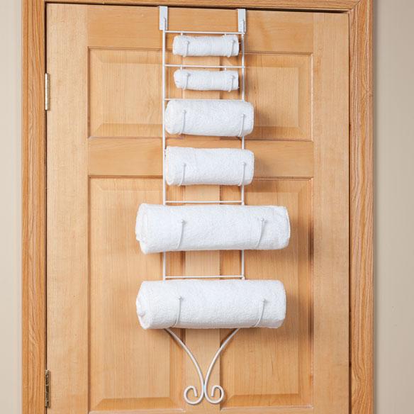 Over The Door Towel Holder By Oakridge Accents Towel
