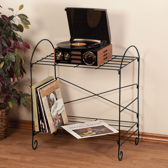 Wire Record Turntable Stand Record Stand Vinyl Records