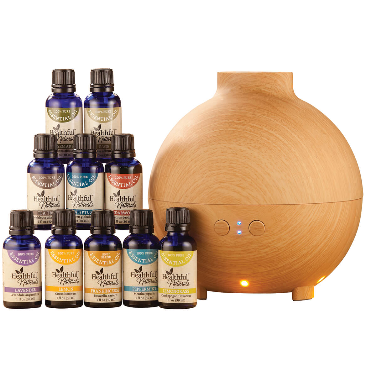 Healthful™ Naturals Premium Kit and 600 ml Diffuser-356695