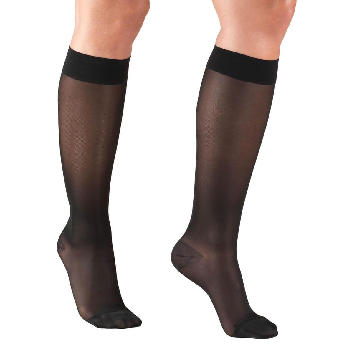 Silver Steps™ Sheer Compression Knee Highs, 15–20 mmHg-364099
