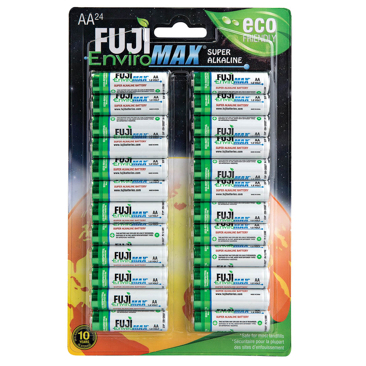 Fuji Super Alkaline AA Batteries, 24 Pack-364147