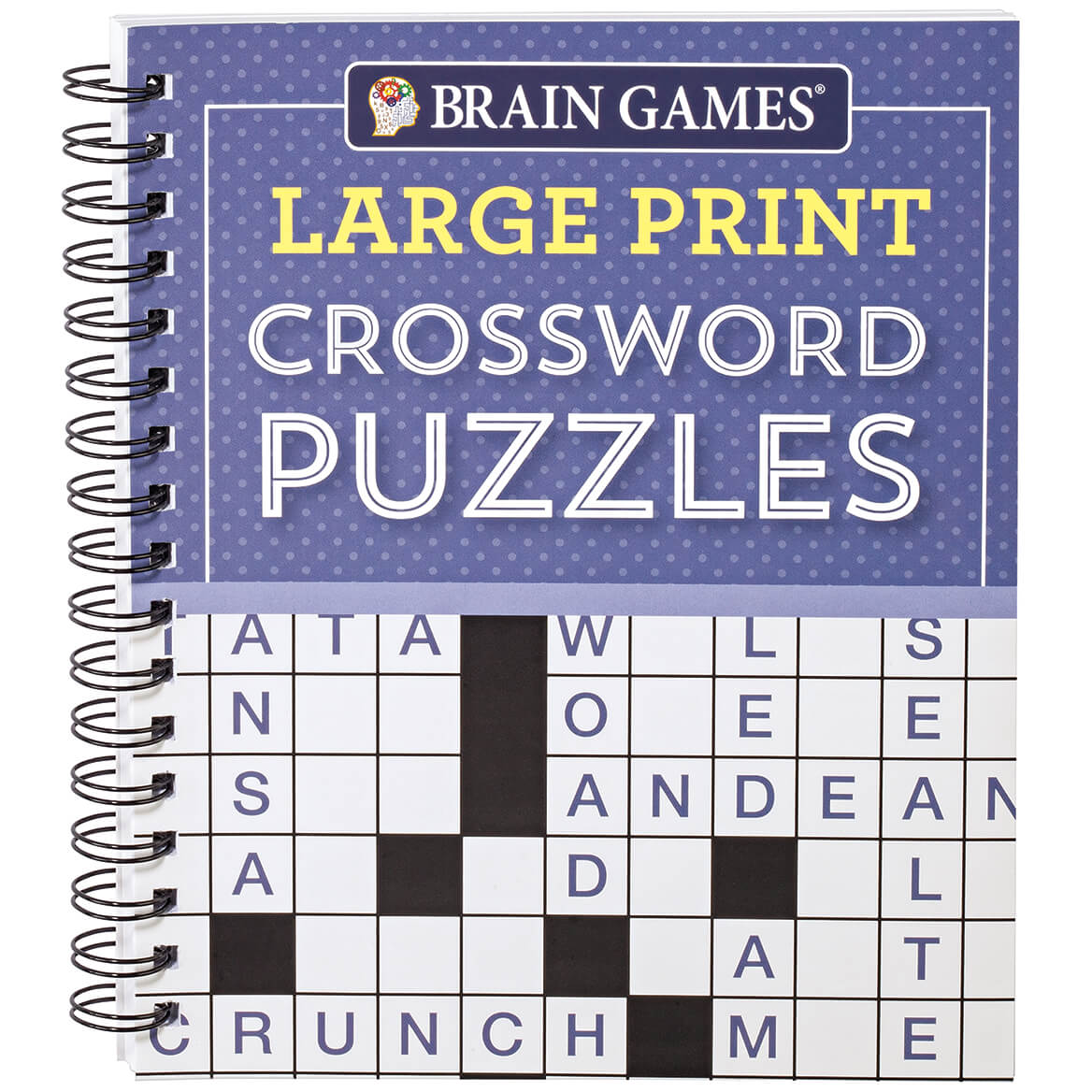 - Brain Games Large Print Crossword Puzzles - Brain Games- Easy Comforts