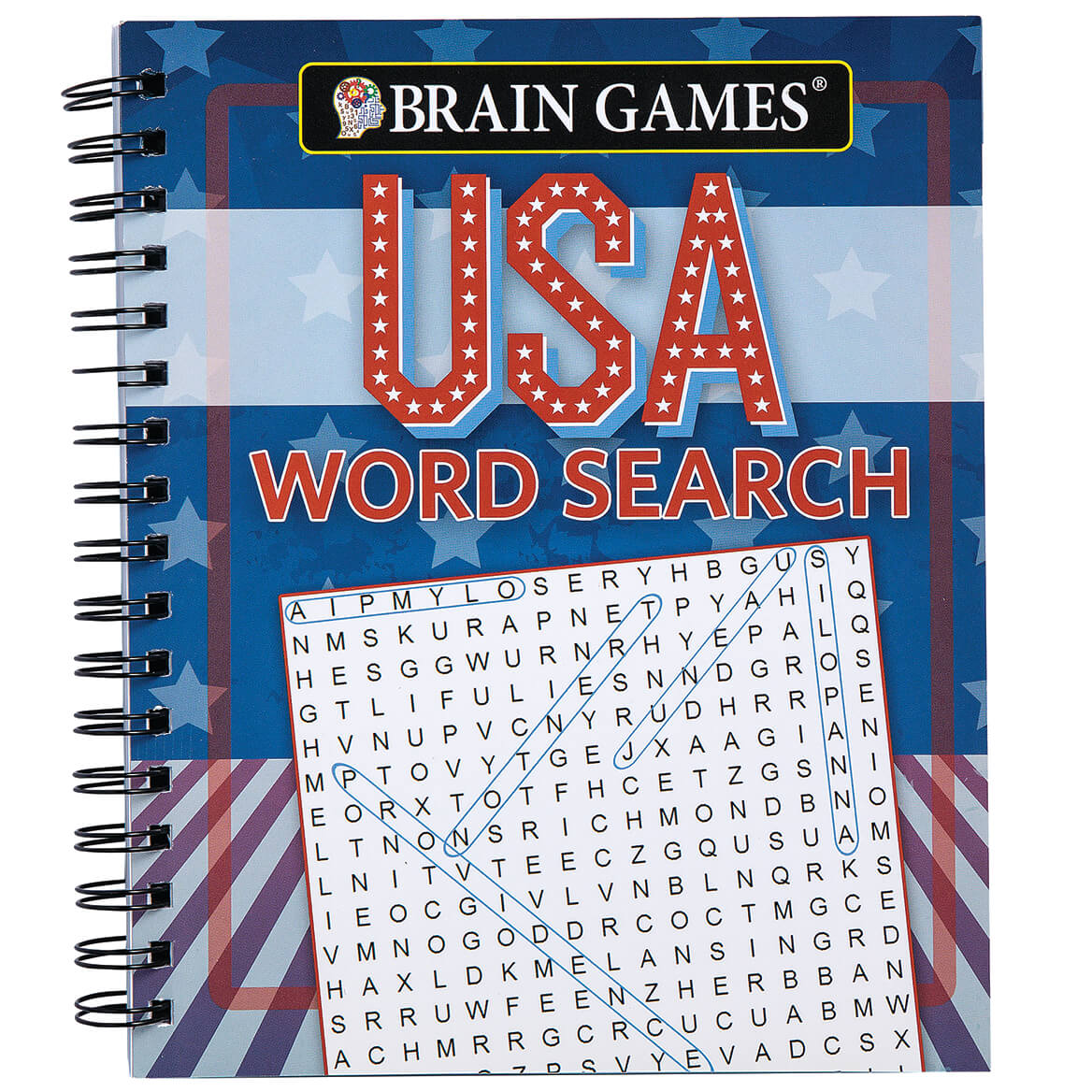 Brain Games® USA Word Search-368867