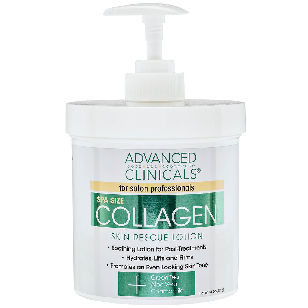 Advanced Clinicals® Collagen Skin Rescue Lotion-368950