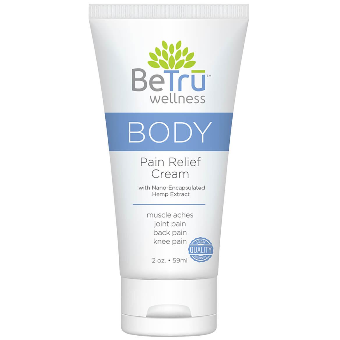 Be Trū™ BODY Pain Relief Cream with Hemp Extract-369208