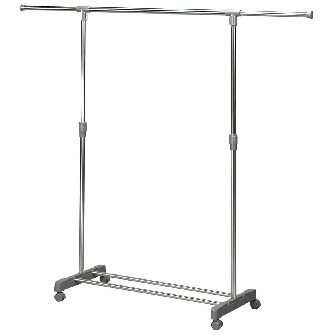 Extendable Wardrobe Rolling Rack-370509