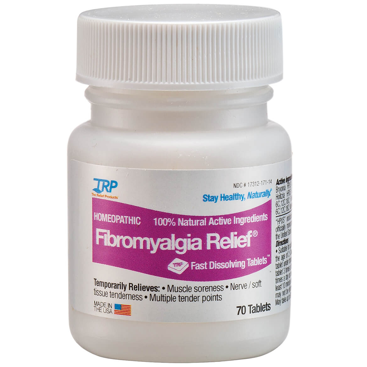 Fibromyalgia Relief™ Fast-Dissolving Homeopathic Tablets-371503
