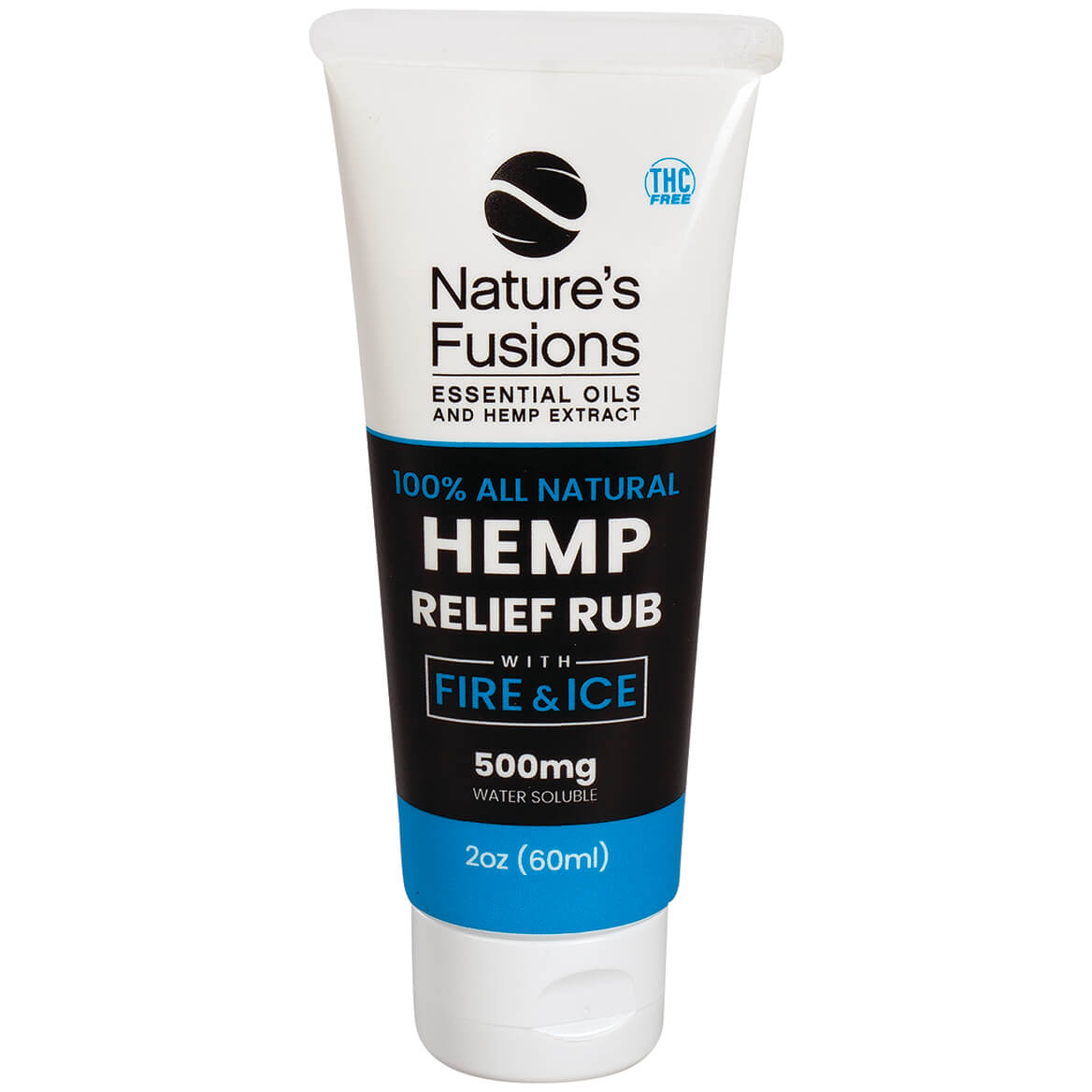 Nature's Fusions Hemp Relief Rub with Fire & Ice-371741
