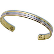 Tricolor Copper Magnetic Bracelet