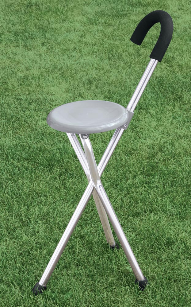 Easy forts Folding Cane Seat Silver