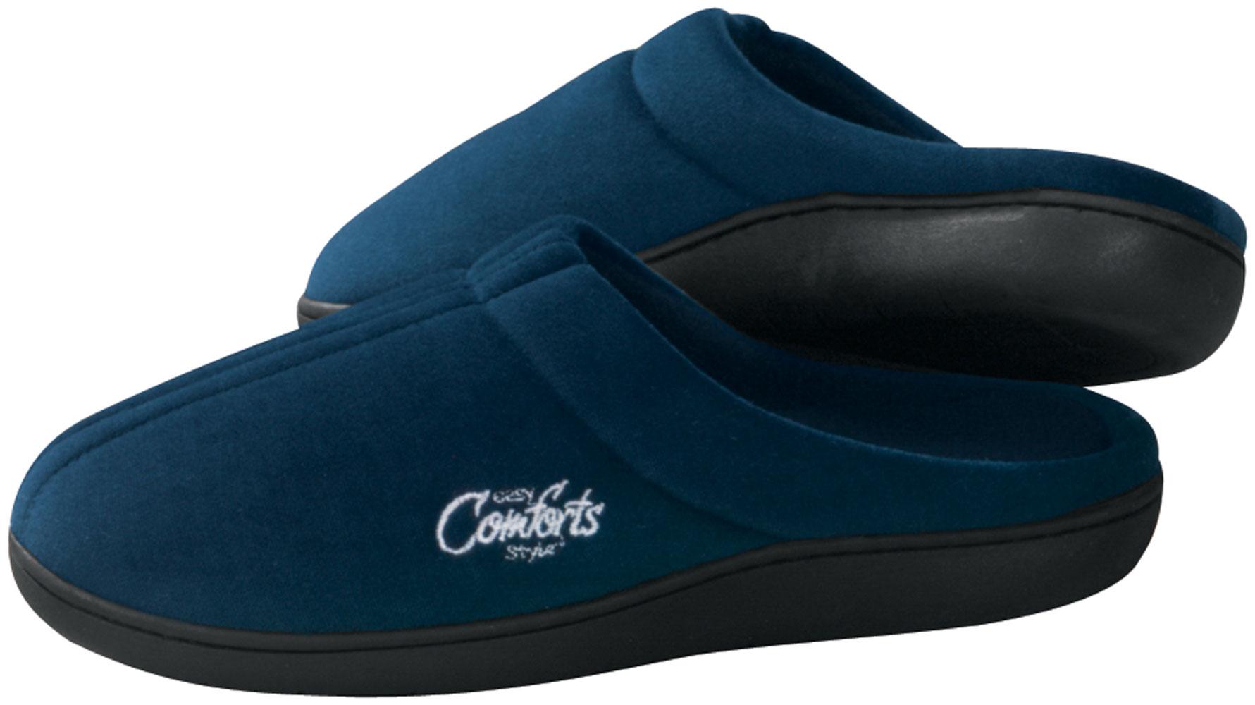 EasyComforts EasyComforts Easy Comforts StyleTM Memory Foam Slippers