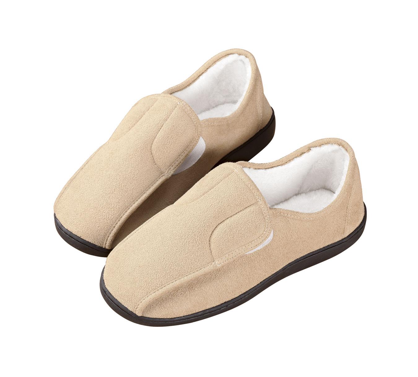 EasyComforts Easy-On Soft Memory Foam Slippers
