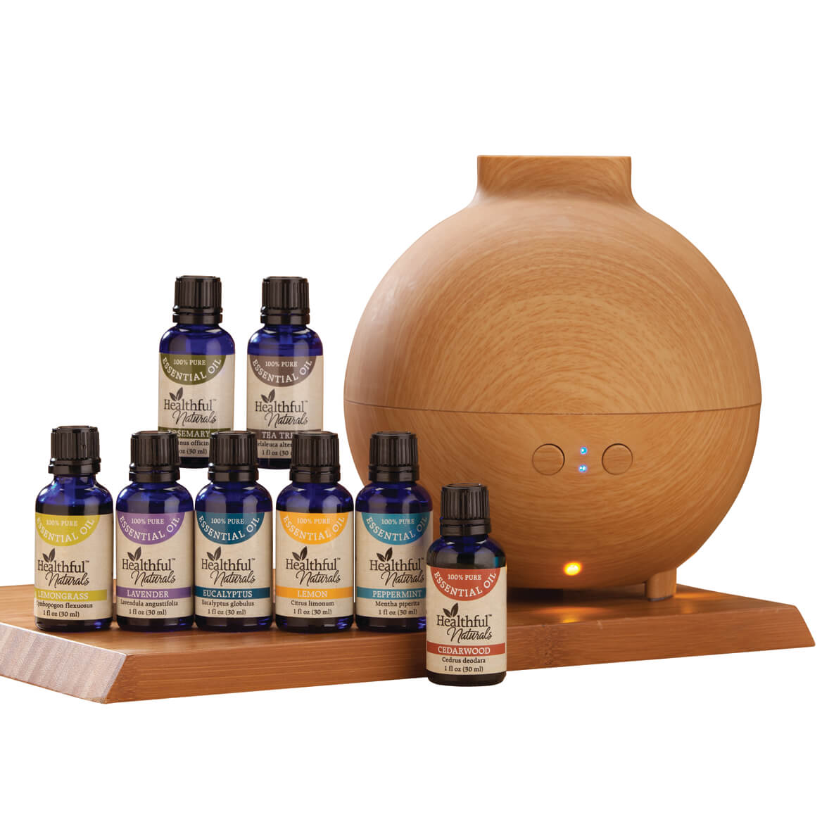 Healthful Naturals Deluxe Kit & 600 ml Diffuser